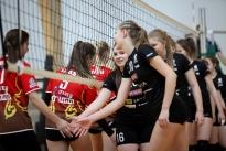 Salva/Kaarsilla Tartu U16 tüdrukud pidasid kodusaalis EVF karikavõistluste mänge 18-19.02.17