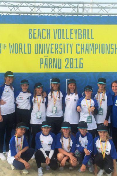 Duo vabatahtlikud MM-il Pärnus