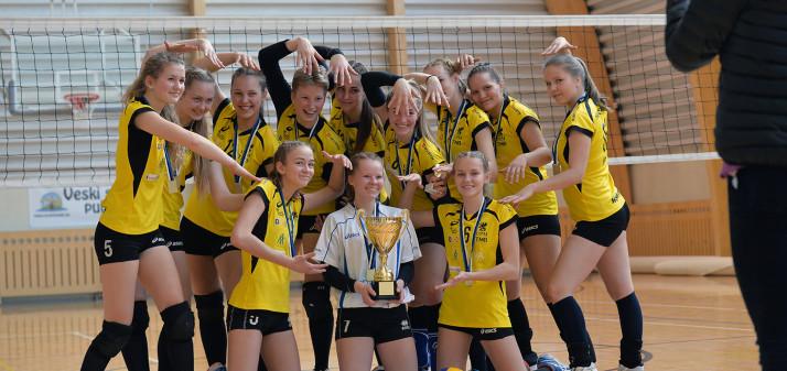 Meie meistriks tulnud U-18 tütarlaste võistkond osaleb Balti meistrivõistlustel!