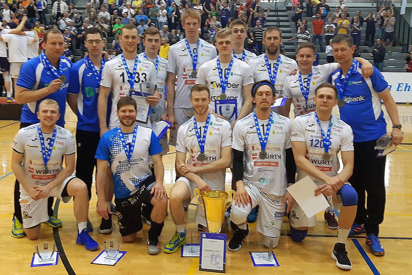 Bigbank Tartu on Eesti meistrivõistluste hõbe!