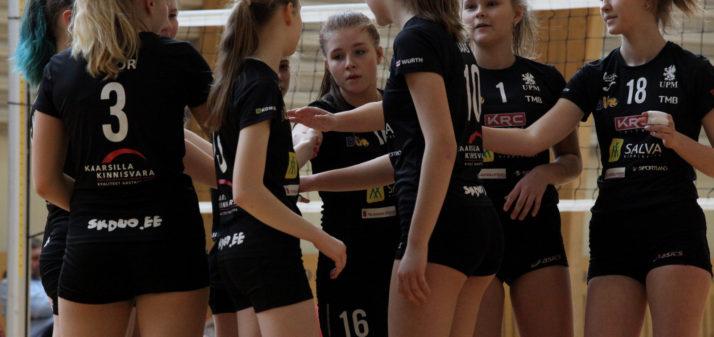 Salva/Kaarsilla Tartu U16 tüdrukud võitlesid läbi tsooniturniiri Eesti meistrivõistluste finaali