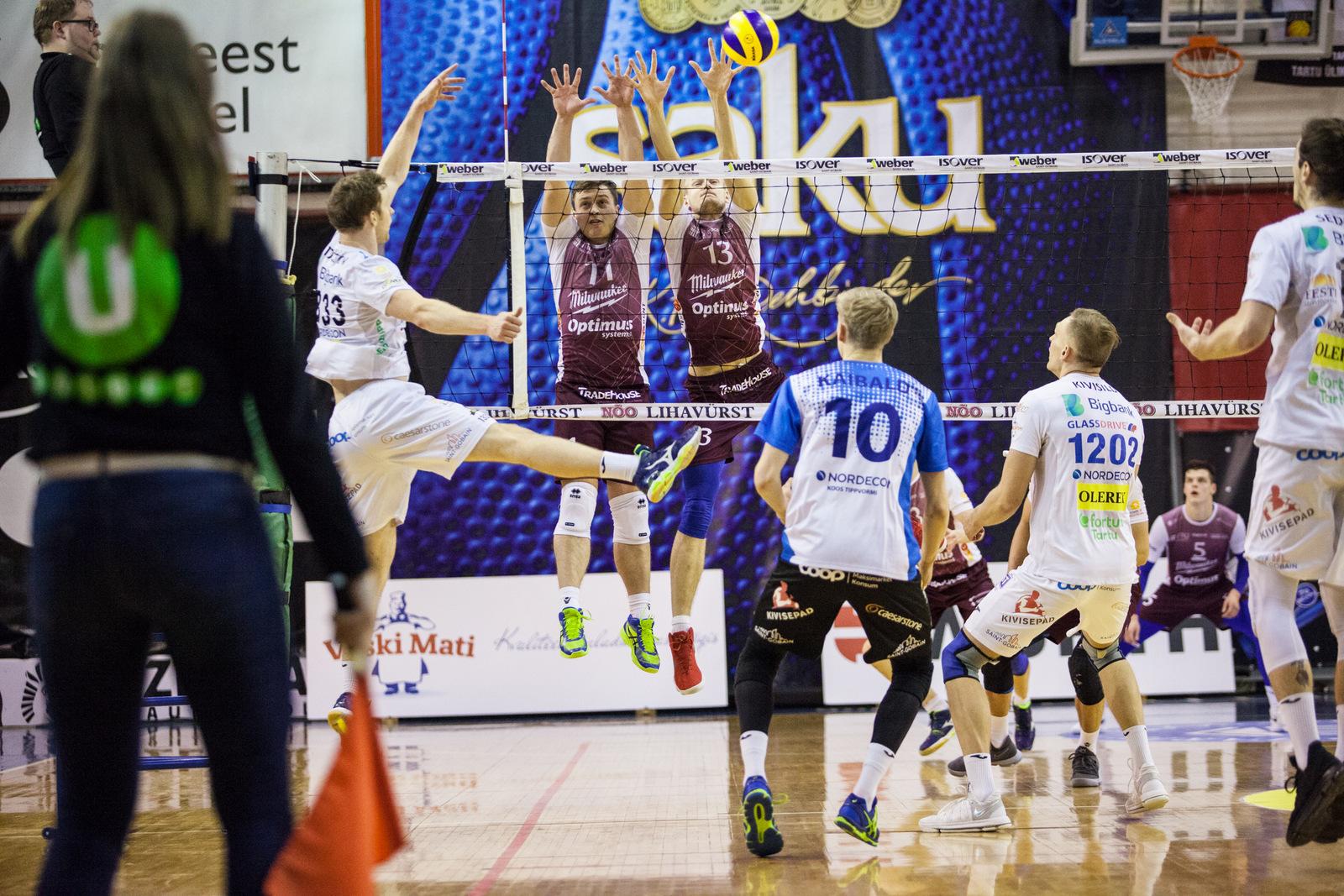 Bigbank Tartu alustab Eesti karikavõistluste poolfinaali TTÜ vastu!