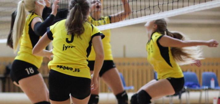 Tütarlaste U20 tsooniturniir oli DUO klubile igati edukas