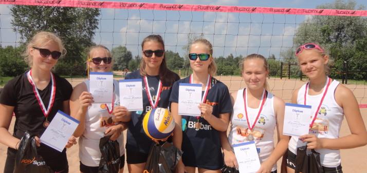 Rannavolle Tartu meistrivõistlused kujunesid Duo tüdrukutele üli-edukaks