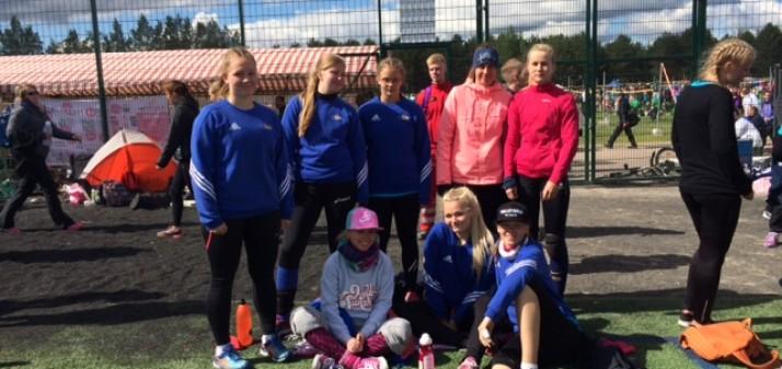 Salva Tartu U16 tüdrukud maailma suurimal noorte võrkpalliturniiril Power Cup
