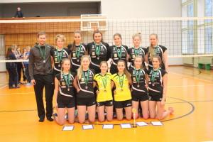 Salva/Kaarsilla Tartu U20 neiud EVF turniiril Võrus