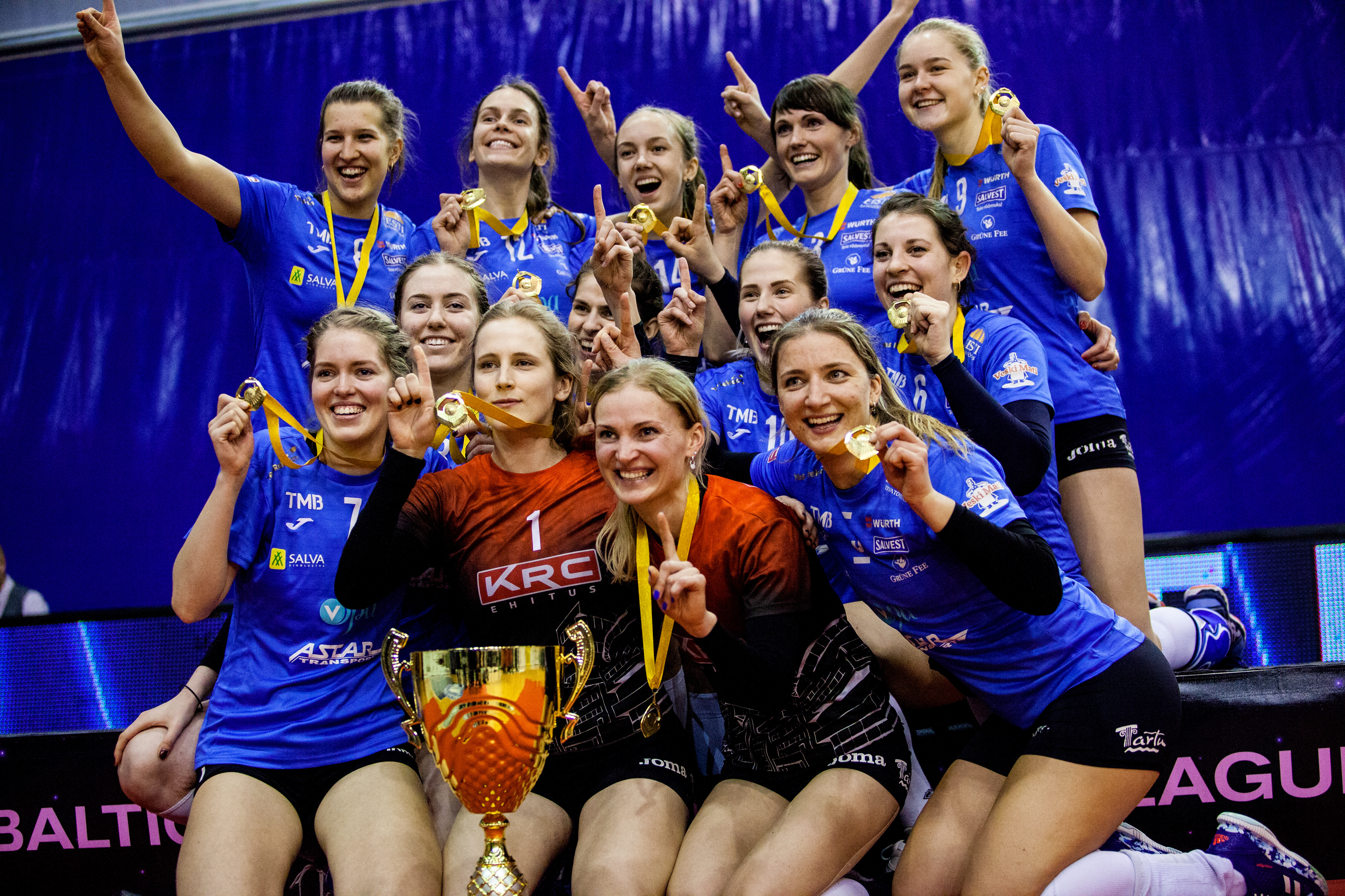 TÜ/Eeden on Baltikumi Meister 2018!