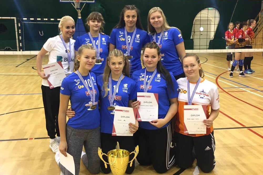 Olerex/Veski Mati U18 neiud mängivad EMV finaalturniiri Tartus!