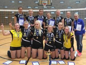 U18 Salva/Kaarsilla Tartu - Eesti karikavõitjad